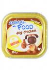 ANIMAL FOOD 150g konz.paštika pes kuře