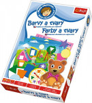 Malý objaviteľ Farby a tvary edukačné spoločenská hra