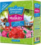 Jihočeské hnojivo - Muškáty 2kg + 30% zdarma