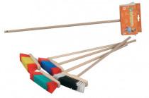 Smeták, 68 cm, dřevěná násada - mix variant či barev