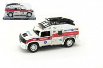 Auto Ambulance plast 25cm na setrvačník