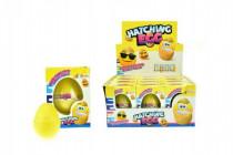 Vajcia liahnuce rastúce smajlík plast 6cm - mix variantov či farieb