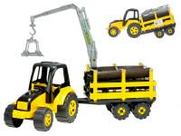 Traktor s vlekom TytanCarrier 70 cm
