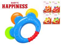 Chrastítko 12 cm Baby\'s Happiness - mix barev