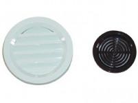 mriežka vetracie so sieťovinou plastová, priemer. 75mm HN