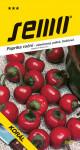 Semo Paprika zeleninová pálivá - Korál čerešňová, pole 0,6g / SHU 30 000 /