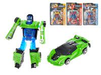 Robot/auto 2 v1 kov 10 cm - mix variant či barev