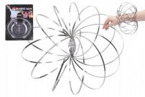 Magic ring kovová špirála pružina priemer 13cm na karte 16x24cm