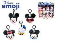 Disney emoji přívěsek na klíče plyšový 7,5 cm - mix variant či barev