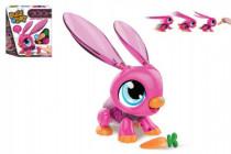 Build a Bot králiček / robot sada plast 20ks na batérie
