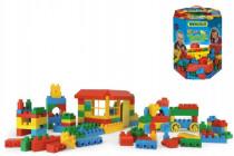 Kocky stavebnice pre chlapcov plast 102ks v papierovej krabici Wader 12m +