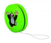 Jo-jo zelené s krtkem jásajícím