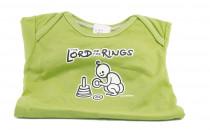 Dětské body Mayaka s dlouhým rukávem The Lord of the Rings - zelené Vhodné pro věk 12-18 měsíců - VÝPREDAJ