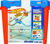 Hot Wheeels track builder box plný triků