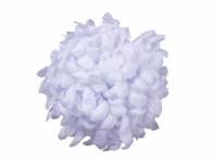 Kvet voskový Chryzantéma biely 14cm