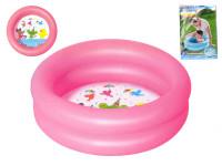 Bazén nafukovacie 2 komory 61x15cm 21L - mix farieb