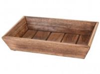 miska obdél. 29,5x20x5,5cm dřevo