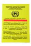 Očkovací průkaz pes Intervet mezinárodní 1ks