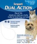 Sergeants Dual Action obojok mačka a malý pes 34 cm