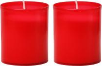 Svíčka Vatikánka malá bez víčka 100 g - 2 ks