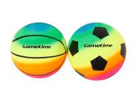 Lopta dúhový 23 cm - mix variantov či farieb