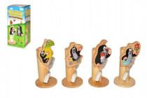 Stojánek na kartáček Krtek dřevo - mix variant či barev