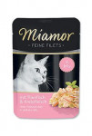 Miamor Cat Filet vrecko tuniak + krab 100g