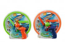 Létající disk, na natažení - mix variant či barev