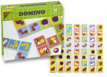 Domino dřevěné broučci 28 ks