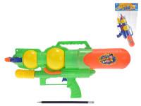 Vodní pistole 39 cm s pumpou - mix barev