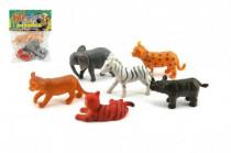 Zvieratká mláďatá safari ZOO plast