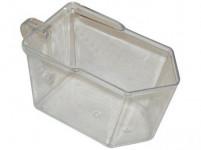 zásobníkoch 10x12x19,5cm plastová, číra