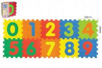 Penové puzzle Číslice 30x30cm
