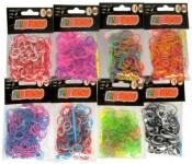 Urob si svoj náramok - gumičky na pletenie gumové - mix variantov či farieb