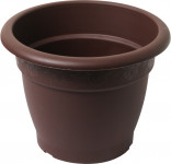 Plastia obal Muškát - čokoládový 18 cm