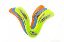 Bumerang plast 25cm - mix farieb