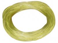 šnúra 60m plastový poťah, lanko (silon), 1311 - mix farieb
