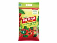 Substrát FORESTINA supresivní rajčata, papriky a okurky 15l
