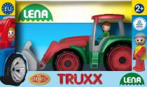 Auto Truxx traktor nakladač plast 32cm v krabici 24m +