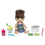 Baby Alive Tmavovlasá panenka s mixérem - VÝPREDAJ