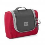 Spokey TRIBAL Kosmetická cestovní taška, červeno-šedá