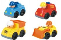 Auto mini plast 9cm volný chod - mix variant či barev