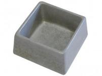 miska štvorec 155x155x75mm betón (84)