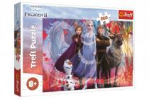 Puzzle Ľadové kráľovstvo II / Frozen II 260 dielikov 60x40cm