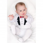 Body with print New Baby smoking - 86 (12-18m) - VÝPREDAJ