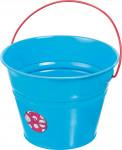 Detský kýblik kovový modrý Stocker