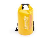 Vodotesný vak Dry Bag 20l s dvoma popruhmi na ramená a priehľadom, Domestic