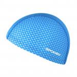 Spokey TRACE JUNIOR Plavecká čepice nylon, potisk modrá