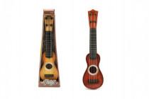 Kytara/Ukulele 4 struny plast 37cm - mix barev