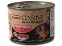 Animonda Carny cat konz. Junior - hov.,krůtí srdce 200 g